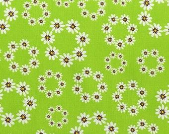 fabric patchwork green JUST DANDY by Robert Kaufman Fabrics