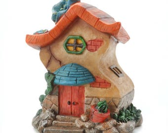 Darice® Yard and Garden Minis - Resin - Large Fairy House - 4.75 x 6 inches