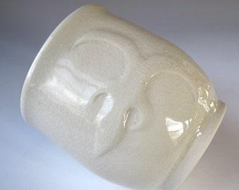 African Art Cup, Adinkra Symbol, Baby Gift - handmade ceramics