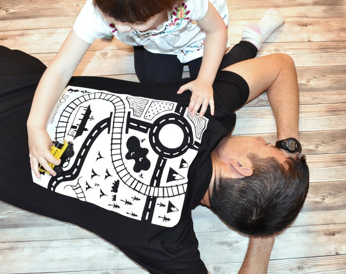 Featured listing image: Dads T-Shirt Playmat