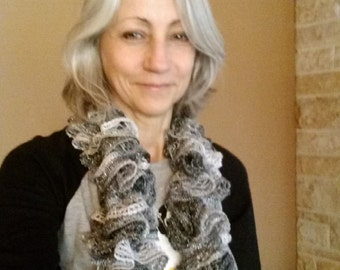 Hand Knit Scarf