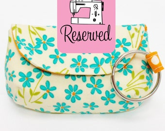 RESERVED Keychain Clutch Sewing Pattern