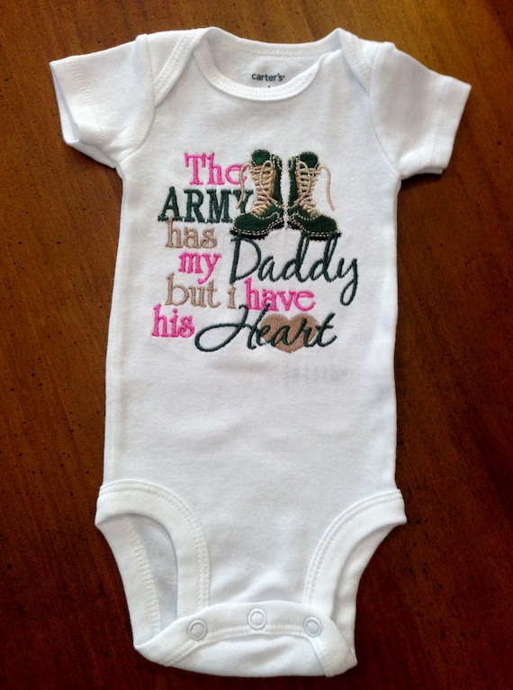 Well-known The Army has my Daddy/Mommy but I have his/her Heart Shirt FD19