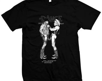 Gay Cowboys - Pre-shrunk, hand screened 100% cotton t-shirt