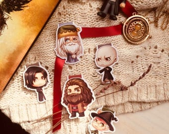 Magical Professors and Mentors Magnetic Bookmarks