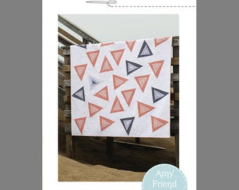 Triangle Toss Quilt Pattern