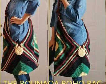 The BOUNAQA URBAN JUNGLE Oversized Boho Bag (Made to Order)