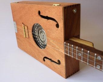 "Cigarbox Guitar ""Acoustic cedarwood box"""