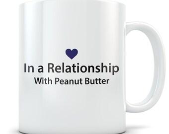 Peanut butter Lover Gifts, peanut butter mug, peanut butter gift for women and men, peanut butter themed gifts, cute peanut butter gift idea