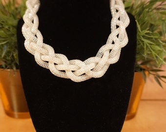 Four Strand Statement Necklace