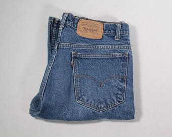 Men's Levi's orange tab jeans made in the USA