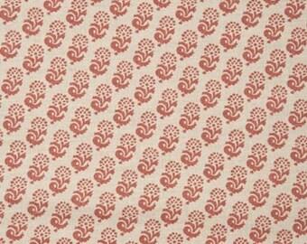 "Lisa Fine ""Rambagh"" Hand Printed Linen Drapery Panels"