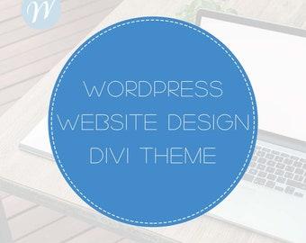 Wordpress Website Design with Divi Theme   Website Design, WordPress Website, Website Development, Blog