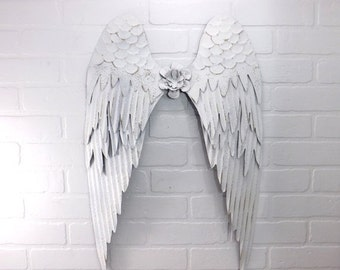 White Angel Wings /Angel Wings / Wall Angel Wing Decor / Guardian Angel / Choice Color / Spiritual Decor