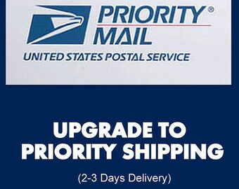 upgrade to Priority express shipping