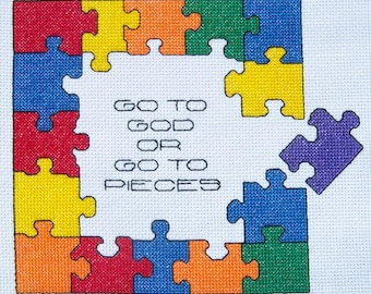 Go to GOD or Go to Pieces-LB10268