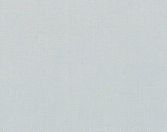 "Gray Solid Fabric - Bella Solids ""Zen Grey"" by Moda - One Yard"