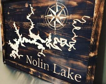 Nolin Lake Map