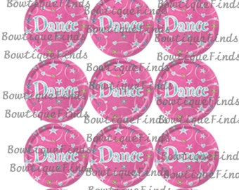 "DANCE U PRINT.. 1"" Bottle Cap Images Sent To You... U PRINT"