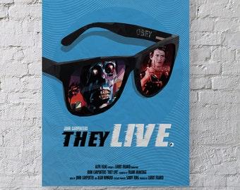 They Live Alternative Movie Poster