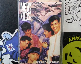 New Kids On The Block - Step By Step cassette