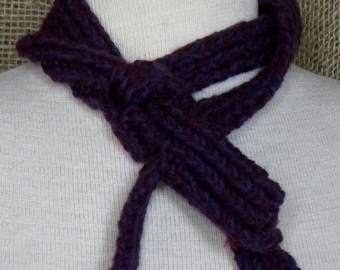 Scarflet in Plum and Purple