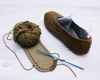 Rubber Soles for shoes Crochet slipper sole Children slippers Rubber sole Soles for slippers Rubber shoe sole Soles for Crocheted
