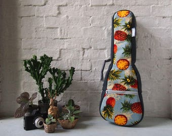 Concert ukulele case - The pineapple (Ready to ship)
