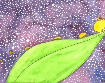 Illustration (Print) - Rainy Day