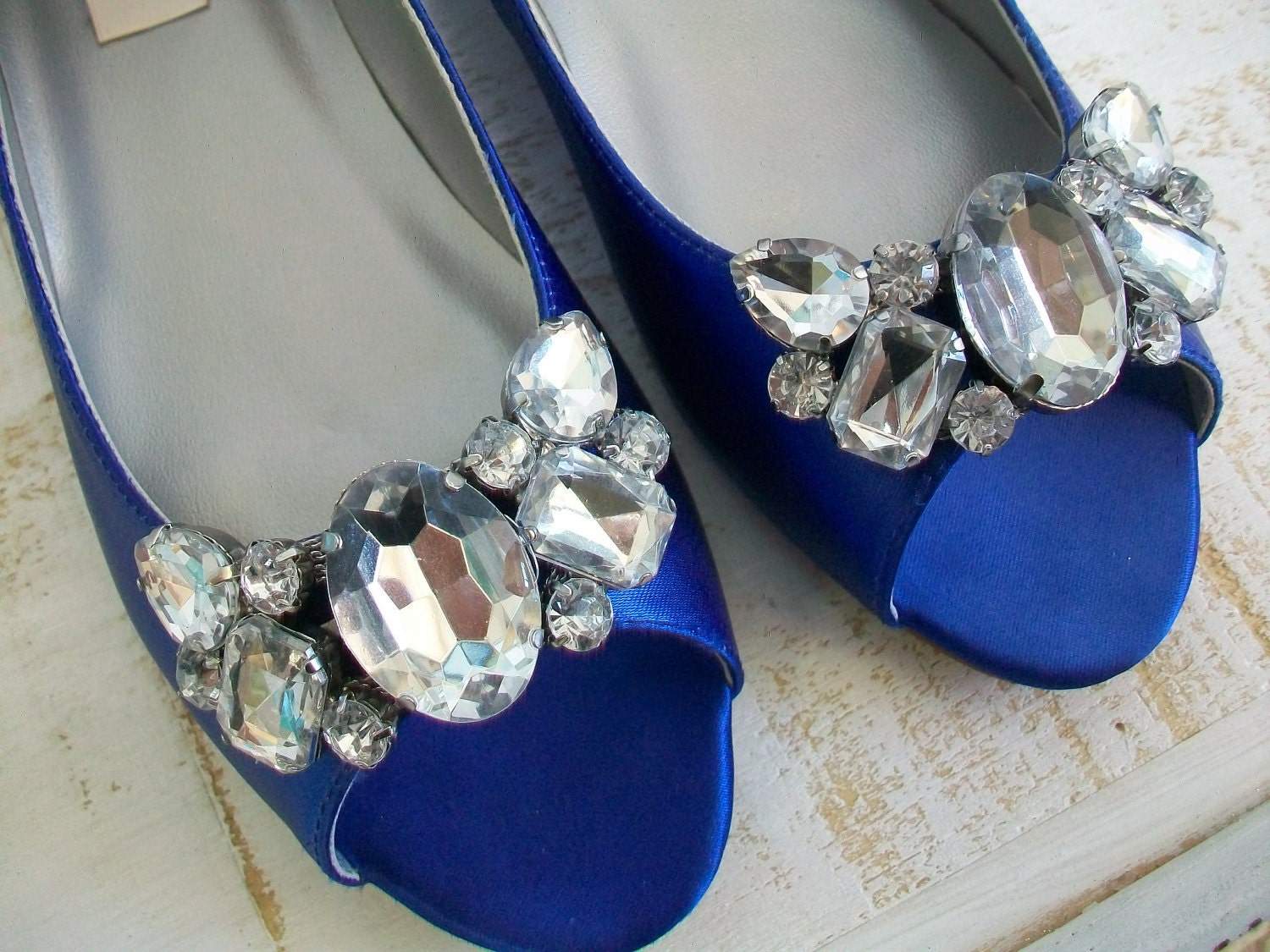 Flat Wedding Shoes Sapphire Blue Wedding Shoes Choose From