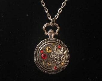 SteamPunk Devil Necklace
