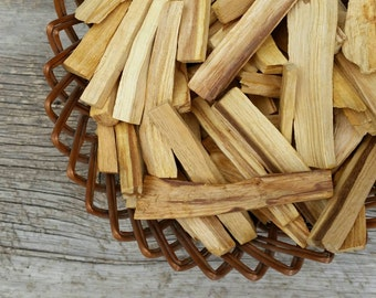7pcs Palo Santo Sticks / Pack of Five / Energy Cleansing Smudge Kit / Natural Wood Incense