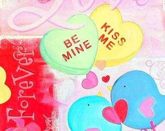 Kiss Me Valentine by Melody Smith
