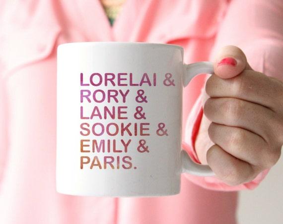 GILMORE girls mug lorelai mug coffee mug gilmore girls show mug coffee mug sister gift mom gift best friend gift