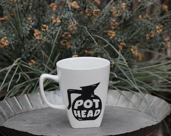 Pot Head Coffee Cup