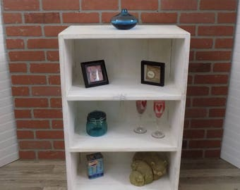 Reclaimed Rustic Shelf / Hanging / Floor / Display / BookShelf /