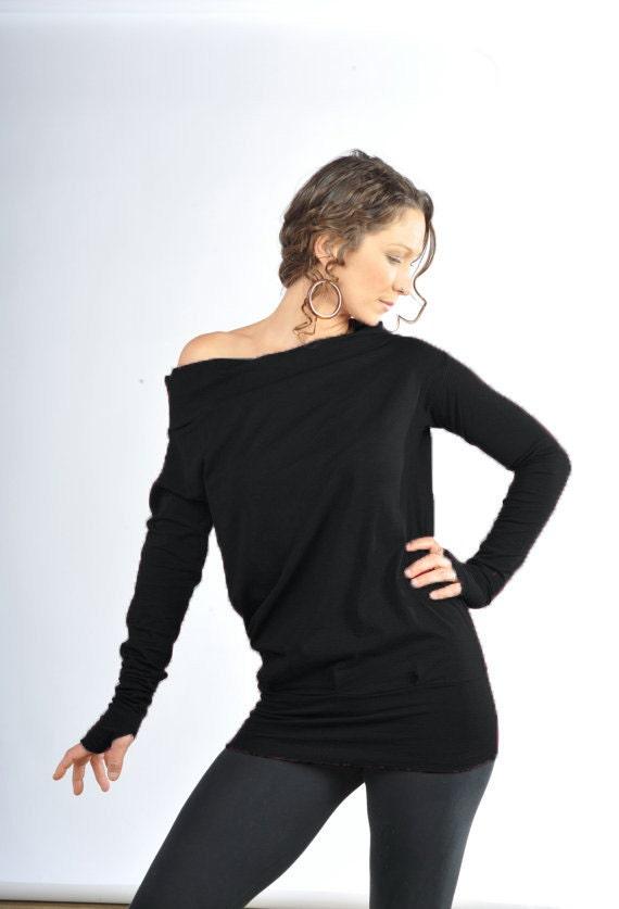 Relaxed Longsleeve Top-Yoga Longsleeve-Loose fit shirt-baggy