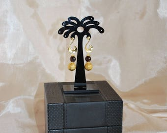Haute Couture style earrings.