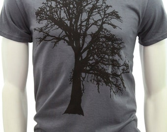 Tall Tshirt | Oak tree | Men's classic T Shirt | up to 3XL | Gift for him and her | Tree hugger