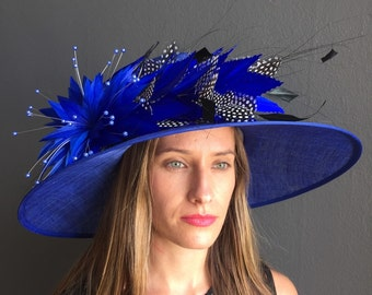 Kentucky Derby Hat, Del Mar Hat, Royal Ascot Hat, Derby Hat, Sinamay Hat