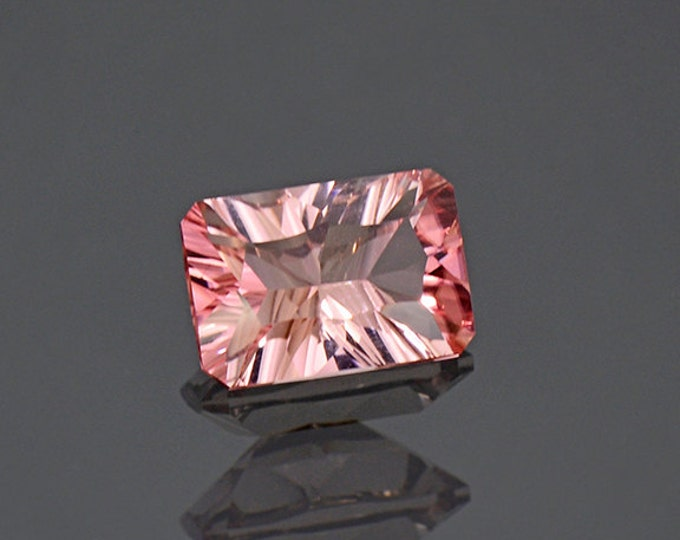 FLASH SALE! Stunning Concave Cut Pink Tourmaline Gemstone from Afghanistan 1.75 cts