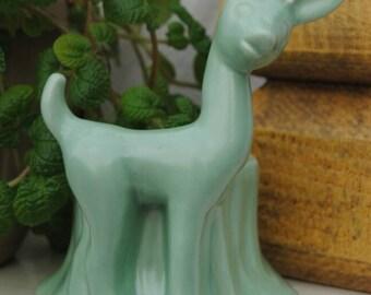Haeger pottery deer planter