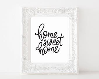 NEW! Home Sweet Home 8x10 Print