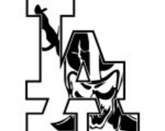 raiders stickers etsy rh etsy com oakland raiders skull logo Raiders Logo Wallpaper
