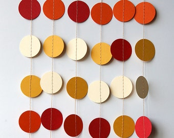 Paper garland - Birthday Decorations - Photo props - Bridal shower decorations - Hanging ceiling decorations, Nursery decor, KC-1003