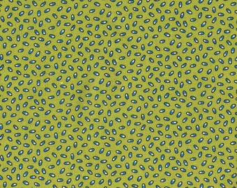 P&B Fabrics Piece O' Cake Frostings Green Blue Fabric Yardage OOP out of print