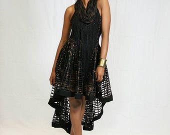 Sale -Statement necklace and skirt