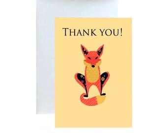 Thank You, FOX Greeting Card