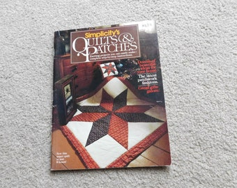 Simplicity's Quilts and Patches Vintage Book