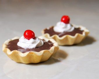 American Girl Dolls. Chocolate Custard Tart
